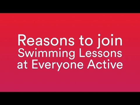 Reasons To Join Swimming Lessons At Everyone Active