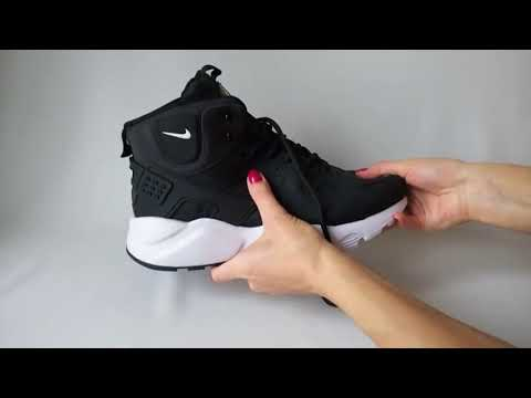 Nike Huarache Black Winter   Найк Хуараче Чорні Зимові