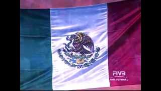 VIDEO: Llega a Mexico FIVB VOLLEYBALL WORLD LEAGUE 2014