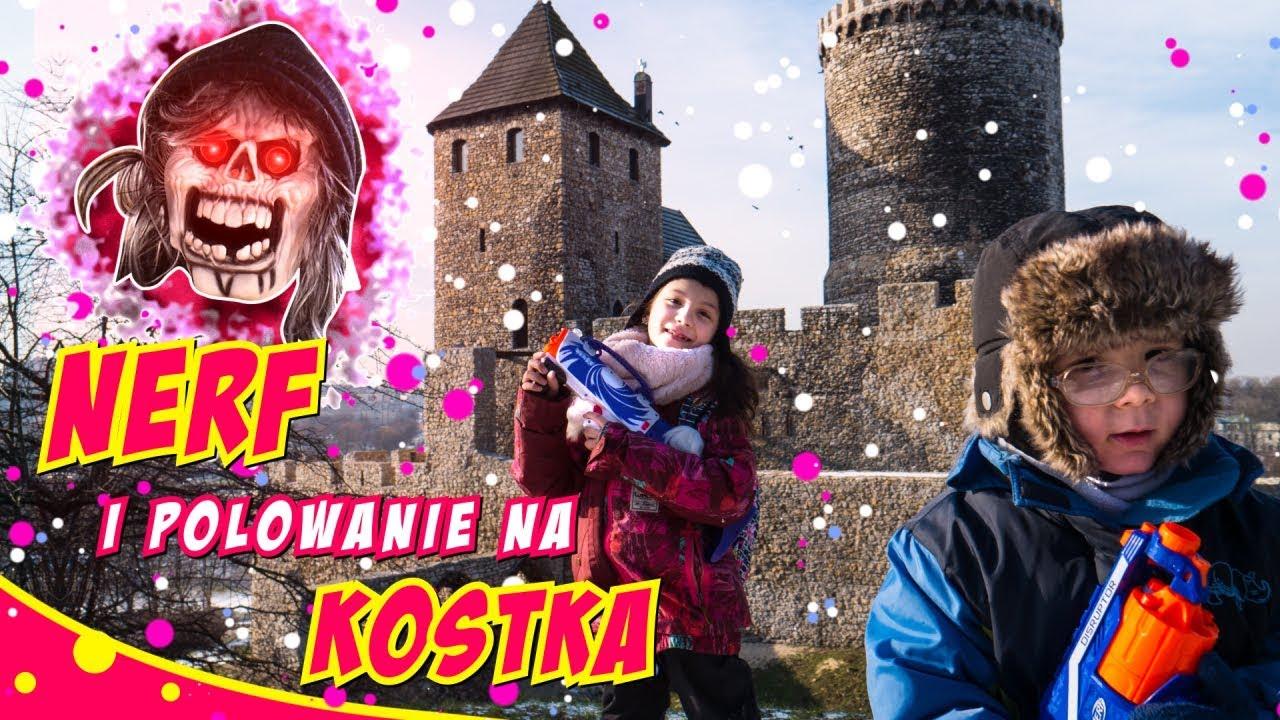 Download NERF,  KOSTEK  i PODZIEMIA W BĘDZINIE #75 Castle and underground - bajka dla dzieci po polsku - SARA