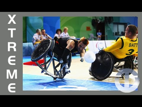 Murderball | No Holds Barred Sport On Trans World Sport