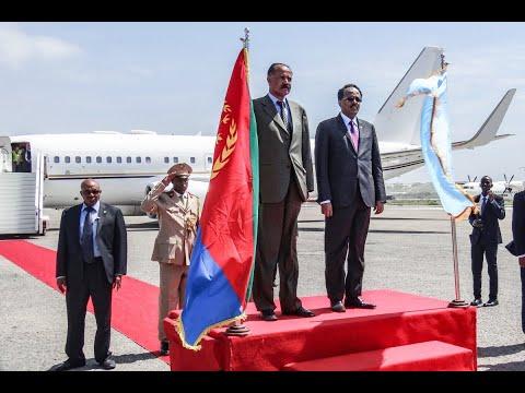 رئيس إريتريا يبدأ أول زيارة رسمية إلى الصومال  - نشر قبل 3 ساعة