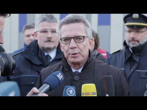 Bundesinnenminister de Maizière besucht Polizei-Dienststelle Goldene Bremm