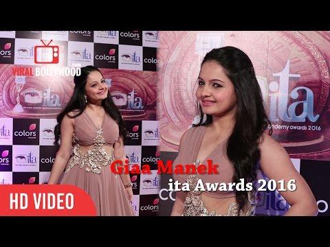 Giaa Manek at ITA Awards 2016 | 16th Indian Television Academy Awards