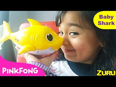 New Pinkfong Baby Shark Sing And Dance Bath Toy By ZURU - Unboxing and Review 🐬