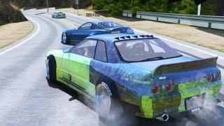 GTA 5 PC FiveM BEST Drifting Physics?? TOUGE TANDEMSS!! (No Name Drift Server)