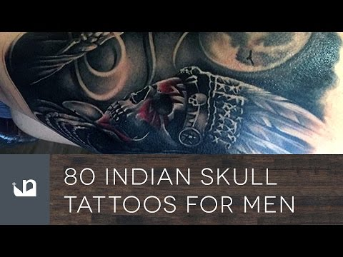80 Indian Skull Tattoos For Men