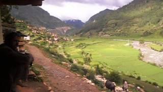 jumla nepal a beautiful valley sinja karnali nepal