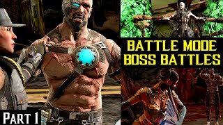 Battle Mode Bosses and Fatalit…