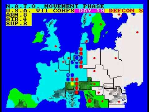 Theatre Europe Walkthrough, ZX Spectrum