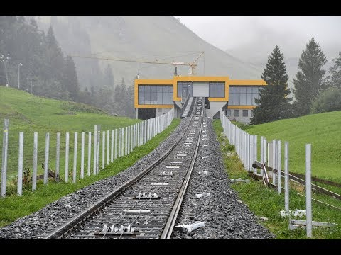 The new funicular of Stoos (1)