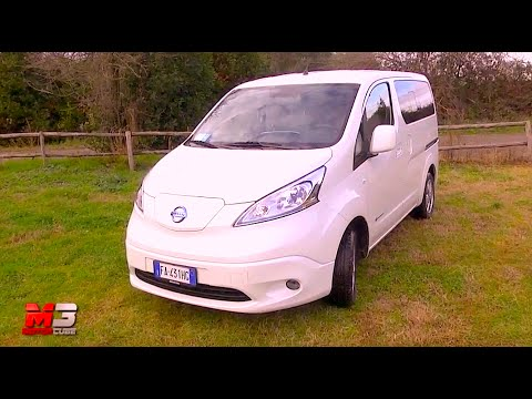 new nissan e nv200 evalia 2016 first test drive eng ita sub youtube. Black Bedroom Furniture Sets. Home Design Ideas