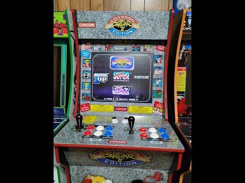 Arcade 1Up Street Fighter mods from David J
