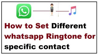 Set a specific unique ringtone to one of your special friend on whatsapp that particular alert tone will only notify when there is new text from speci...
