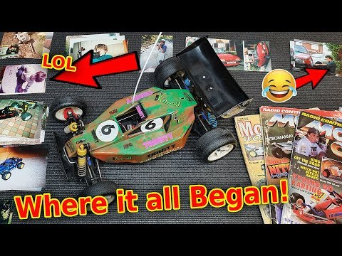 (DON'T LAUGH) Haha - My First Car, RC Cars & 90's RC Mags