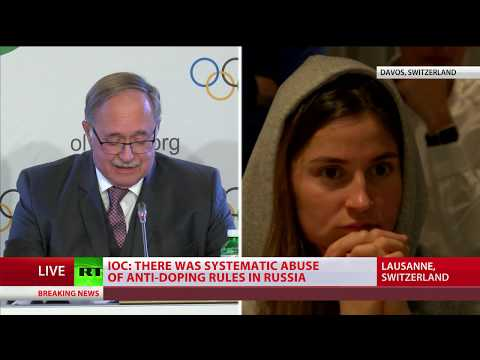 Download Youtube: Russian athletes react to IOC decision on Russia's participation in 2018 Winter Olympics