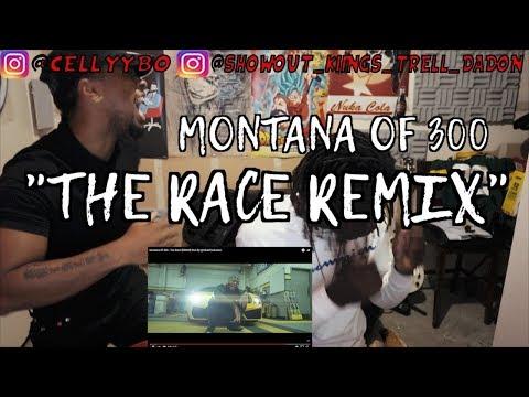 Montana Of 300 - The Race [REMIX] Shot By @AZaeProduction - REACTION