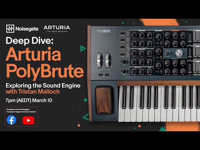 Arturia PolyBrute Deep Dive Special Event