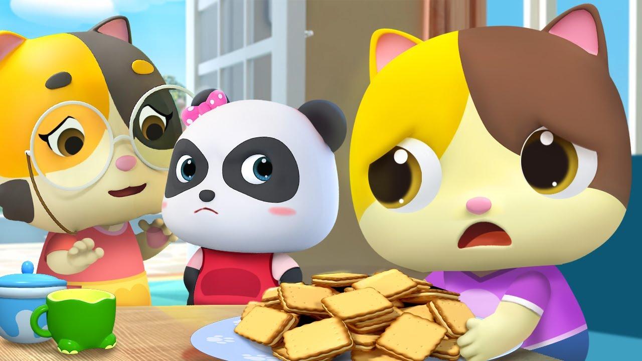 나눌까 말까? | 어린이 교육 | 키키묘묘 | 고양이 | 감정동요 |+모음집 | 베이비버스
