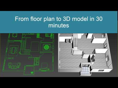 3ds Max Modeling Apartman in 30 minutes from  file with exercise file