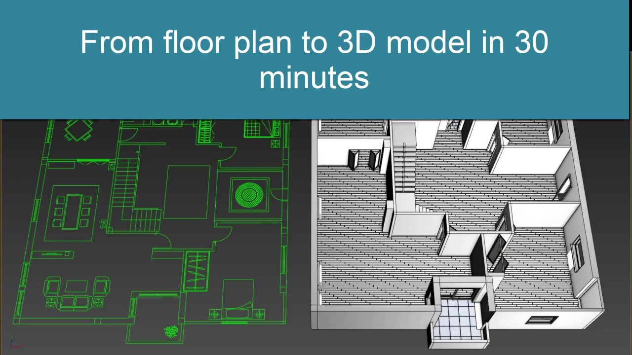 Max Modeling Apartman Minutes From Dwg