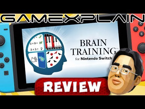 Dr. Kawashima's Brain Training for Nintendo Switch - REVIEW (Brain Age)