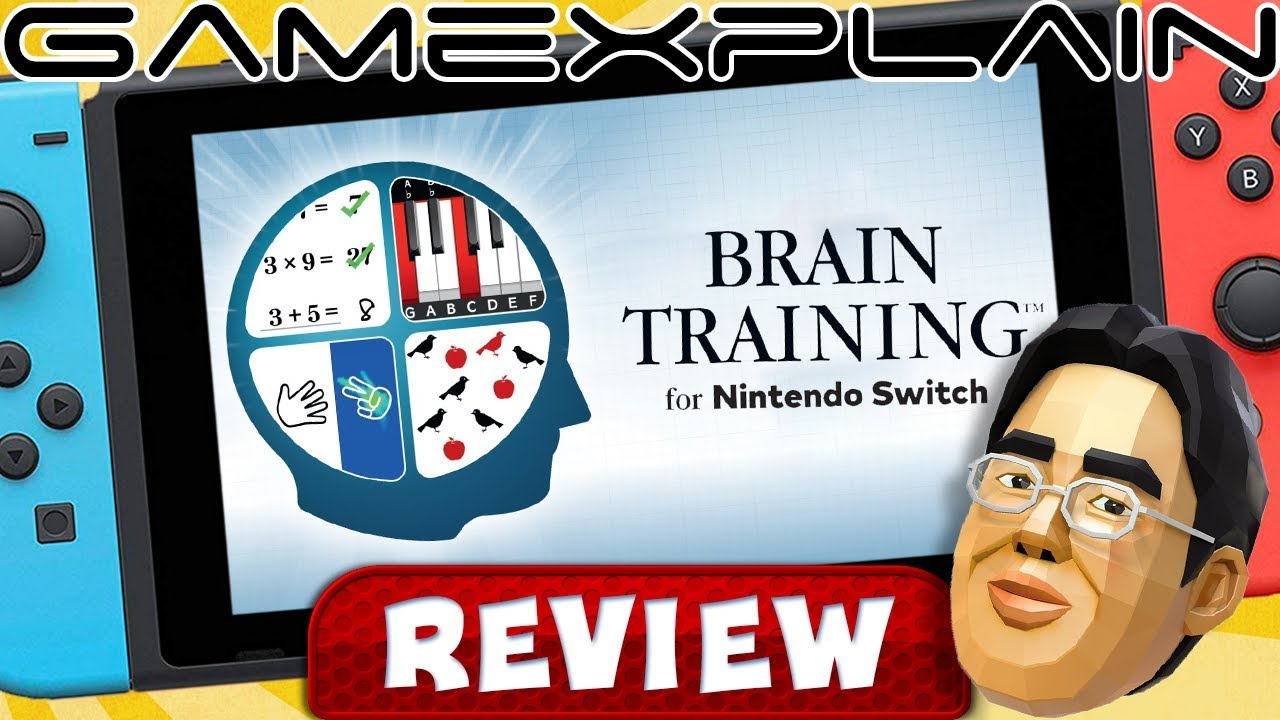 Dr. Kawashima's Brain Training for Nintendo Switch - REVIEW (Brain Age) (Video Game Video Review)