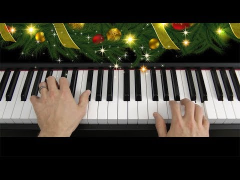 Learn to play Jingle Bells on piano keyboard (tutorial)