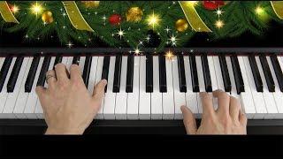 Learn to play Jingle Bells on piano keyboard (tutorial) Mp3