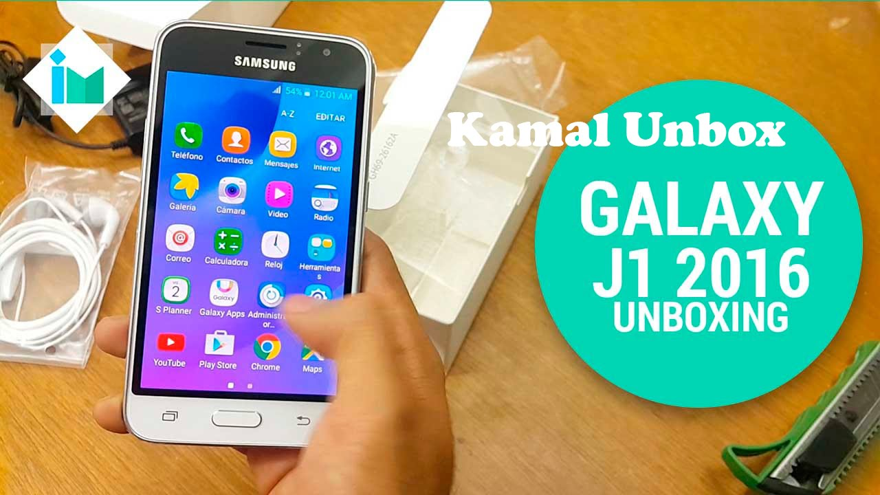 Samsung Galaxy J1 2016  6  Unboxing  U0026 Hands On Review