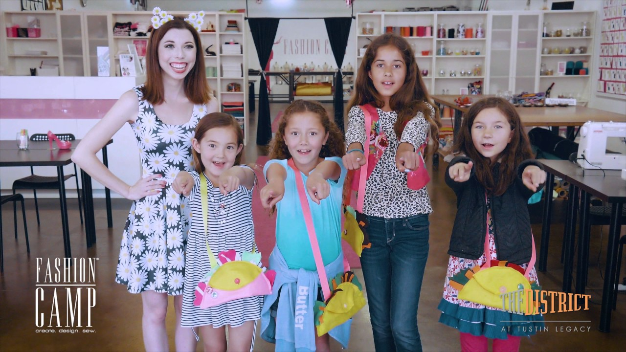 District Daisy Fashion Camp Youtube