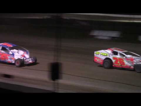 Ransomville Speedway Modified Feature Highlights 8-21-17