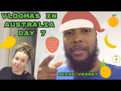 Going vegan?-Vlogmas in Australia Day 7