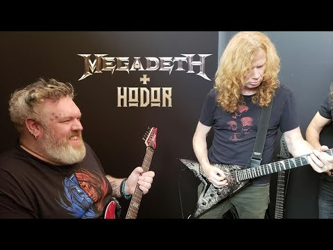 Hodor From 'GAME OF THRONES' Jams 'Holy Wars' W MEGADETH