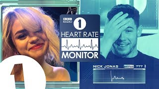 Nick Jonas HEART RATE MONITOR feat. Selena Gomez, Joe Jonas & Jack Black | STRONG LANGUAGE!