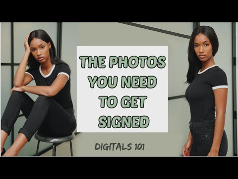 THE PROPER WAY TO SUBMIT TO MODELING AGENCIES! - how to take digitals