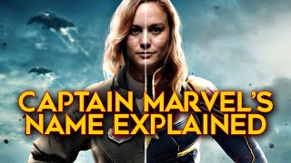 The Real Reason Captain Marvel Hasn't Used Her Name Yet