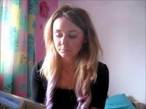 lilac hair dip dye tutorial youtube