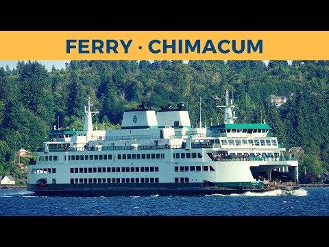 Passage On Ferry CHIMACUM, Bremerton - Seattle (Washington State Ferries)