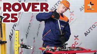 Wie ROVER 25 (RF) Bremszange austauschen - Video-Tutorial