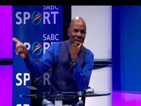 Thomas Mlambo, host of sport @ 10 interviews Thembinkosi Lorch
