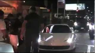 justin bieber drives over paparazzi man paps rescue him hit and run the fast and furious 7
