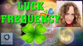Guided meditation. Become Lucky! Change your resonant frequency and manifest luck in your life.
