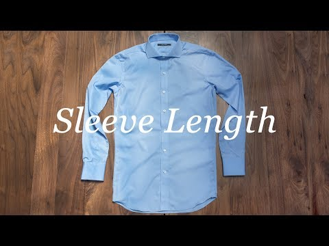 How To Measure Your Shirt: Sleeve Length להורדה