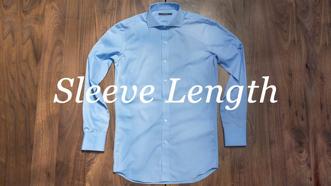 How to Measure Sleeve Length - Proper Cloth Reference - Proper Cloth