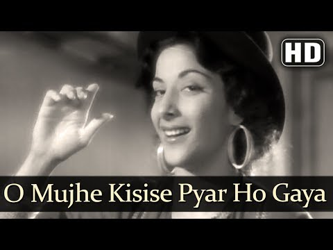 Raj Kapoor & Nargis Best Song  O Mujhe Kisise Pyar Ho Gaya HD  Barsaat1949  Hit Hindi Song