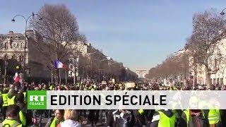 Acte 14 - Edition spéciale #RTFrance : suivez les manifestations des Gilets Jaunes