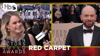 Taryn Manning: Red Carpet Interview | 24th Annual SAG Awards | TBS