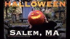 Halloween in Salem, MA