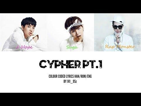 BTS(방탄소년단) - Cypher Pt.1 (Colour Coded Lyrics Han/Rom/Eng)